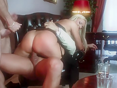 Incredible pornstar Silvia Monti in crazy blonde, mature porn scene