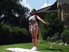 Provide Latina wife Katrina Moreno enjoys getting fucked after yoga