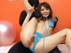 Rina Kato hot sex toys experience