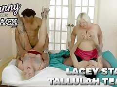 GRANNYLOVESBLACK - A Peeping Tom And His Side