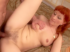 Fabulous pornstar in horny redhead, pov porn scene