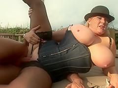 Hottest pornstar in best mature, bbw porn scene