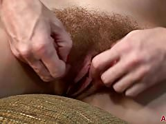 Hairy Redhead Evane Nordstern from AllOver30.com