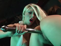 Brutal sex down up ahead strip bar for two dolls