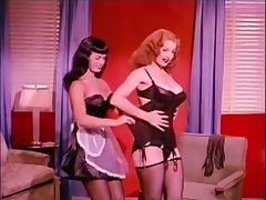 Bettie Page & Lose one's temper Storm - Teaserama