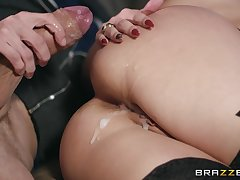 horny blonde Angel Wicky adores relating to fuck with her lover on the bed