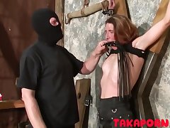 French Bdsm - Training Eradicate affect Mom Slave fetish porn video
