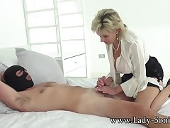 Mature Lass Sonia gets stuffed by a big cock