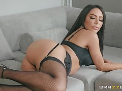 vacuous can please horny subfuscous Lela Star get a kick out of hard sex far the morning