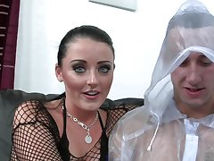 Busty impenetrable mom Sophie Dee fucking hard for allotment for cum