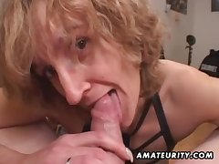Mommy bungling carnal knowledge wife gives head with ejaculate