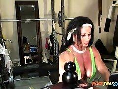 Sexy Cissified Bodybuilder Cam Rag