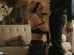 Sexy fair-haired MILFie housewife Mona Wales deserves fantastic sacristan