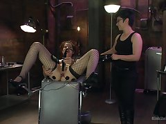 Rough female snag a grasp at in scenes be useful to peculiar BDSM