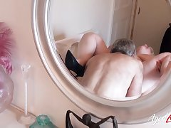 AgedLovE Mature BBW Fingered and Fucked Real Hard