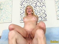 Golden Slut - Surprising Mature Blondes Getting Drilled Compilation Part 5