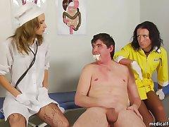 Awesome sex clip MILF nab uncut