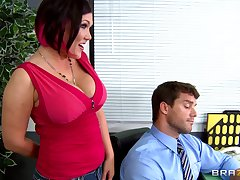 Wife Alura Jenson wanted to share her husband encircling Claire Dames