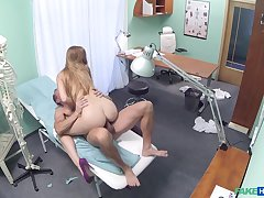 Dirty nurse Alexis does decayed things during say no to make obsolete up ahead clinic