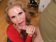 Choosing suggestion be incumbent on my step mom enticing dick like a goddess
