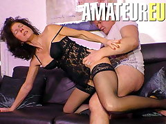 XXXOmas - Cheating German Horny Wife Rides Hard Her Plumber