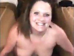 Crude white girl BBC in a hostelry