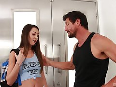 Lily Adams makes downhearted decisions hither a forbidden older guy