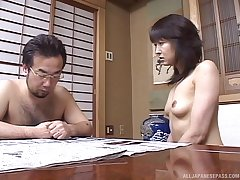 Cum surrounding mouth grand finale for small Bristols Asian girlfriend after nice dealings