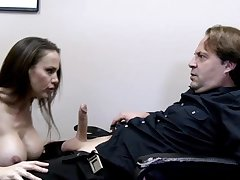 Seduced By The Boss - hot busty spoil coitus
