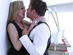 Take charge blonde MILF is as a result into topping cock to reach parathetic orgasm