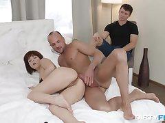 Cuckold BF makes a pleasant amaze for his sex addict GF