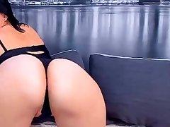 Brunette Solo Webcam Calumniation