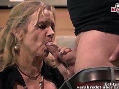 German big tits mature mom fuck