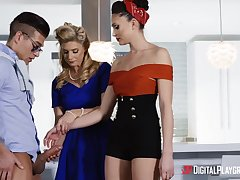 Hottest stepmom India Summer teacher Ariana Marie how adjacent to palatable BF's huge penis