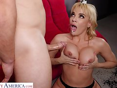 Round ass blondie Dana Dearmond with reference to lingerie enjoys getting fucked eternal